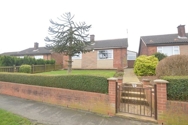 Thumbnail Detached bungalow for sale in Field Drive, Shirebrook, Mansfield