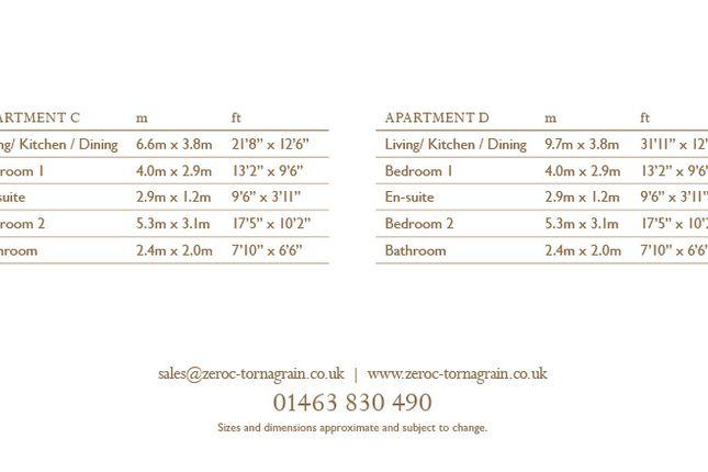 2 bedroom flat for sale in Douglas Court, Tornagrain, Inverness