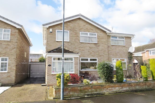 Thumbnail Detached house for sale in Malin Close, Alvaston, Derby