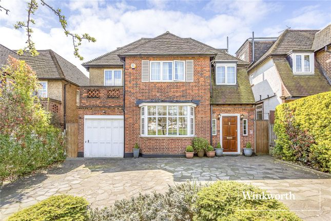 Thumbnail Detached house for sale in Allandale Avenue, Finchley, London