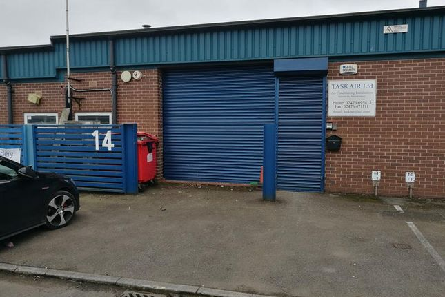 Thumbnail Light industrial to let in Unit 14 Portway Close, Padstow Road, Coventry