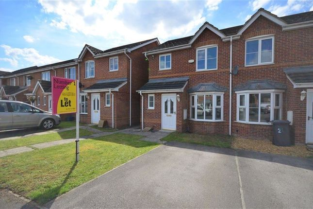 Thumbnail Town house to rent in Linden Way, Thorpe Willoughby, Selby