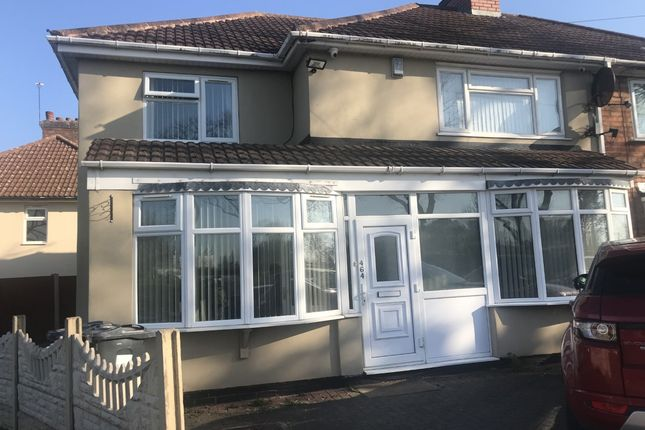 Thumbnail Semi-detached house for sale in Hobmoor Road, Yardley