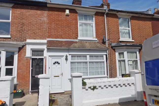 Thumbnail Terraced house to rent in Edmund Road, Southsea
