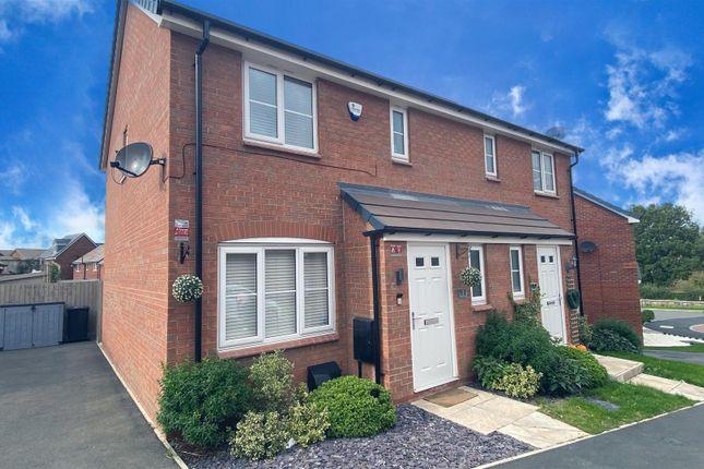 3 bed semi-detached house for sale in Bolehill Close, Oakwood, Derby DE21
