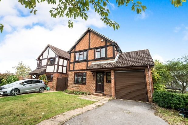 Thumbnail Detached house to rent in Cranesfield, Sherborne St. John, Basingstoke