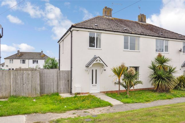 Thumbnail Semi-detached house for sale in Lancaster Crescent, St. Eval, Wadebridge