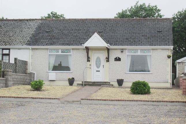 Thumbnail Semi-detached bungalow for sale in Hirwaun Road, Hirwaun, Aberdare