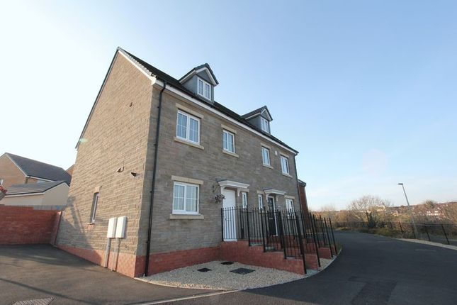 Thumbnail Semi-detached house for sale in White Farm, Barry