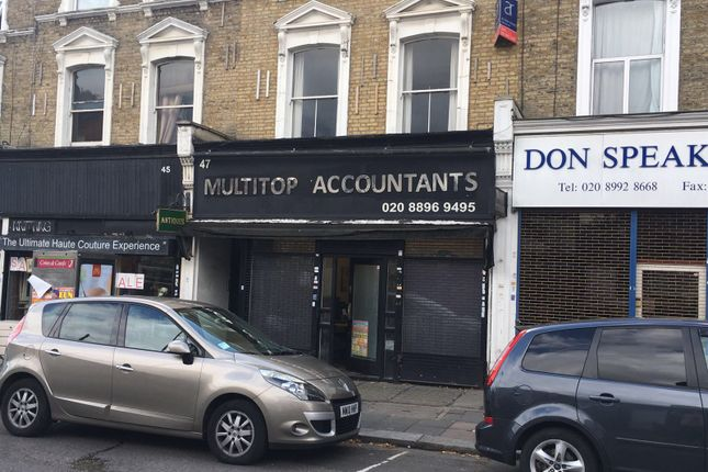 Thumbnail Retail premises for sale in Churchfield Road, London