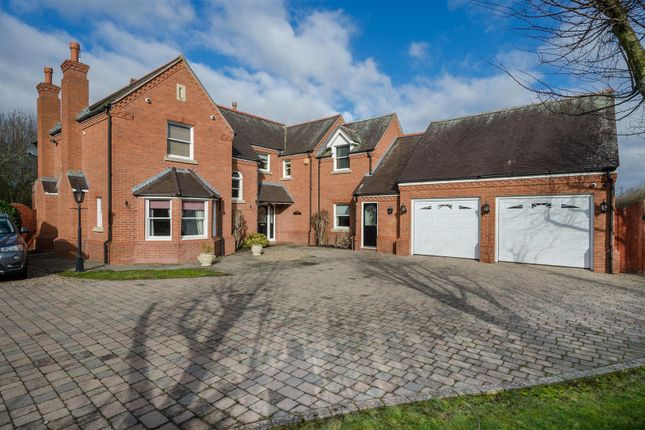 Thumbnail Detached house for sale in Mays Farm Drive, Stoney Stanton, Leicester