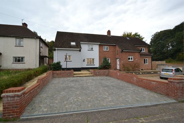 Thumbnail Semi-detached house for sale in Hubert Road, Lexden, Colchester, Essex