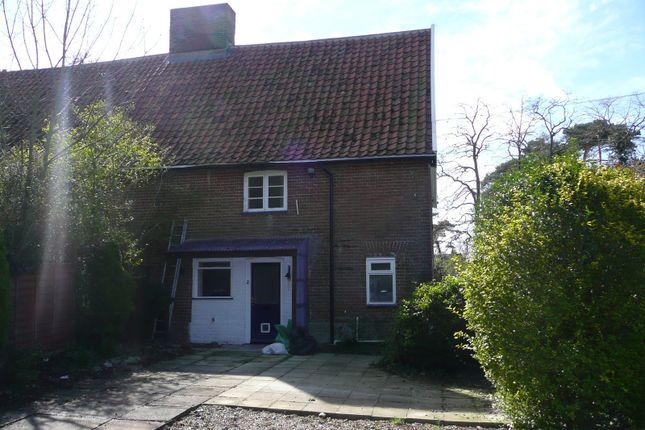 Thumbnail Cottage to rent in Rectory Cottages, Low Road, Forncett St Peter