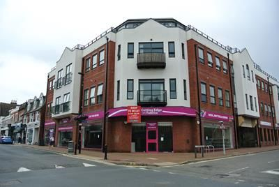 Retail premises to let in High Street, Camberley, Surrey