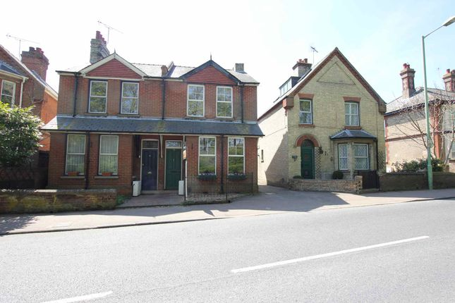 Thumbnail End terrace house to rent in Burwell Road, Exning