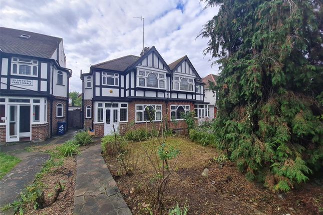 Thumbnail Semi-detached house to rent in Greystoke Park Terrace, Ealing, London