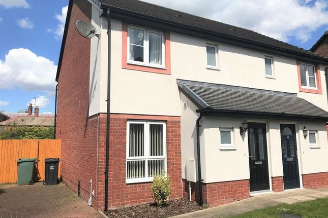 Thumbnail Semi-detached house to rent in Sycamore Drive, Longtown, Carlisle