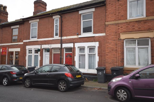 Thumbnail Shared accommodation to rent in Wild Street, Derby