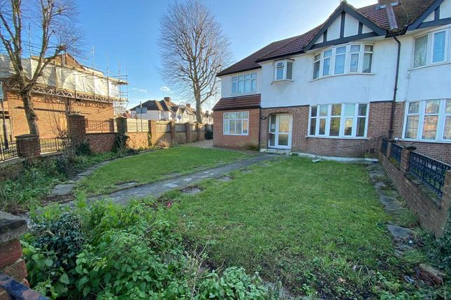 Thumbnail Semi-detached house to rent in Ruislip Road East, London