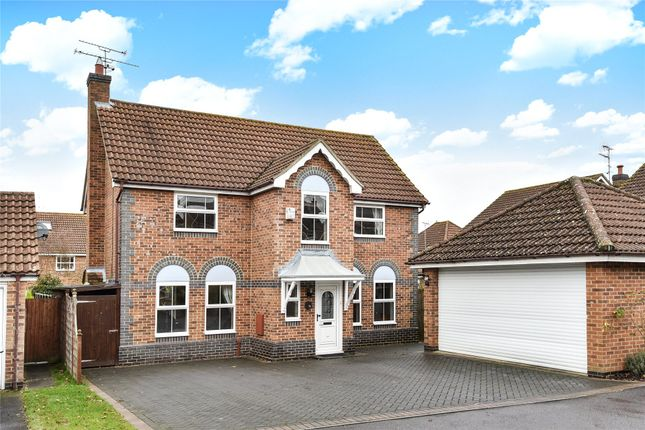 Thumbnail Detached house for sale in Lower Canes, Yateley, Hampshire