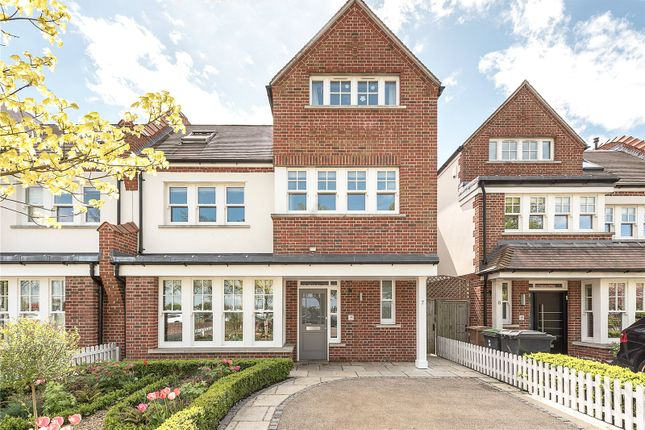 Thumbnail Semi-detached house for sale in Woodland Terrace, Twyford Avenue, London