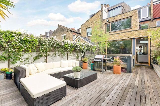 Garden of Atalanta Street, London SW6