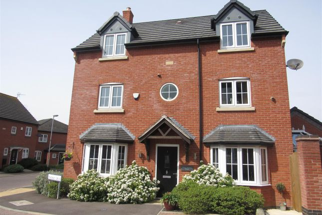 Thumbnail Detached house for sale in Thomas Drive, Countesthorpe, Leicester