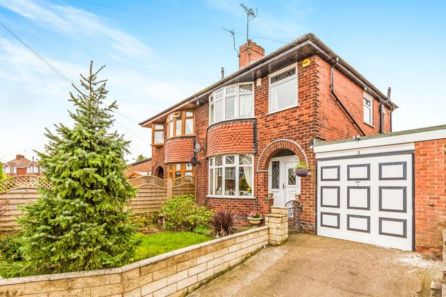 3 bed semi-detached house for sale in Cambria Road, Pleasley, Mansfield