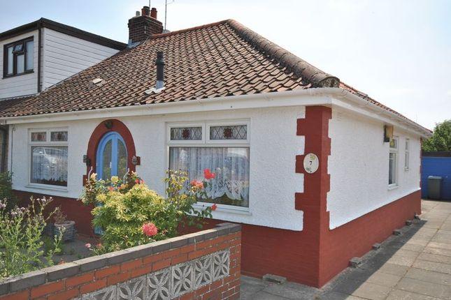 Thumbnail Bungalow for sale in Dennis Road, Hellesdon, Norwich