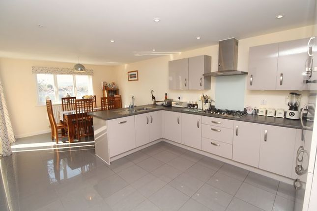 Thumbnail Detached house for sale in Coburg Crescent, Chudleigh, Newton Abbot