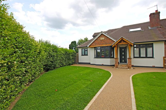 Thumbnail Semi-detached bungalow for sale in New Haw, Addlestone, Surrey