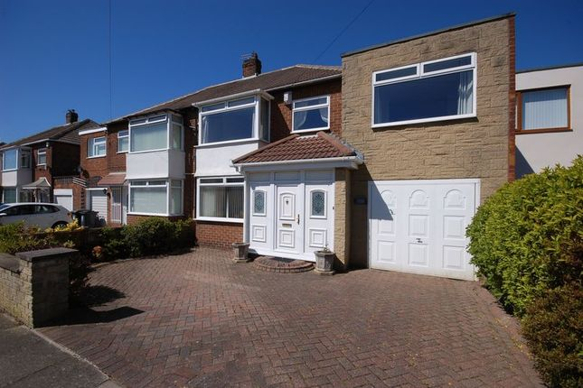 Thumbnail Semi-detached house for sale in Northfield Drive, West Moor, Newcastle Upon Tyne