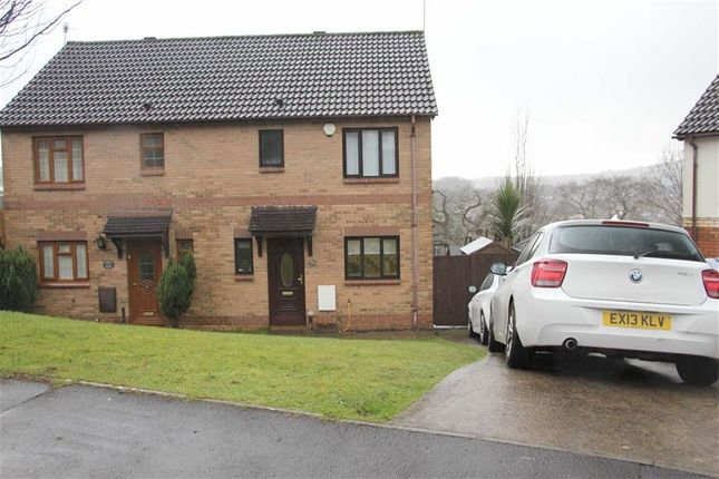 Thumbnail Semi-detached house for sale in Heol Ysgubor, Caerphilly