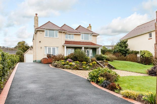 Thumbnail Detached house for sale in Kestell Road, Sidmouth