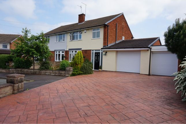 Thumbnail Semi-detached house for sale in Water Mill Close, Wolverhampton