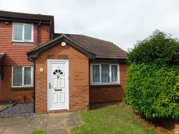 Thumbnail End terrace house for sale in Ravens Dane Close, Downswood, Maidstone, Kent
