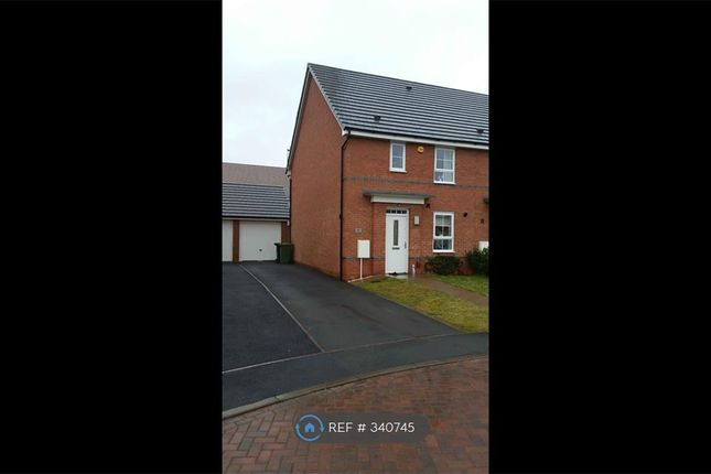 Thumbnail End terrace house to rent in Rainsford Crescent, Kidderminster