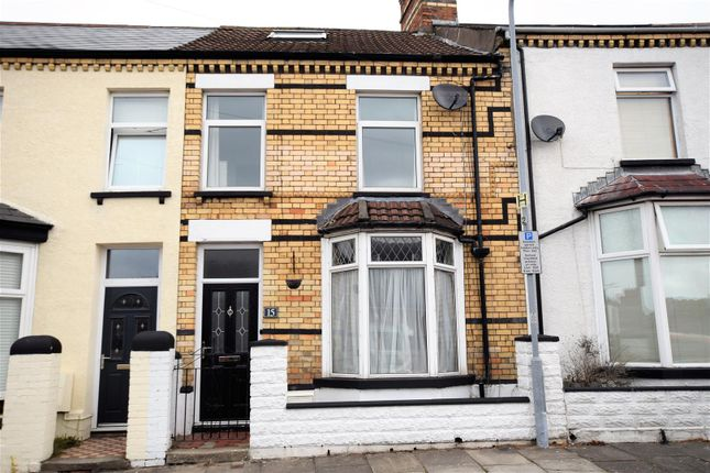 Thumbnail Terraced house for sale in Aberystwyth Crescent, Barry