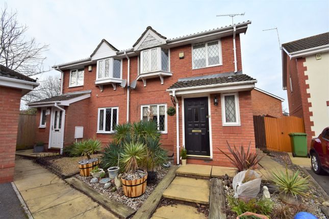 Thumbnail Semi-detached house for sale in Wainwright Gardens, Hedge End, Southampton, Hampshire