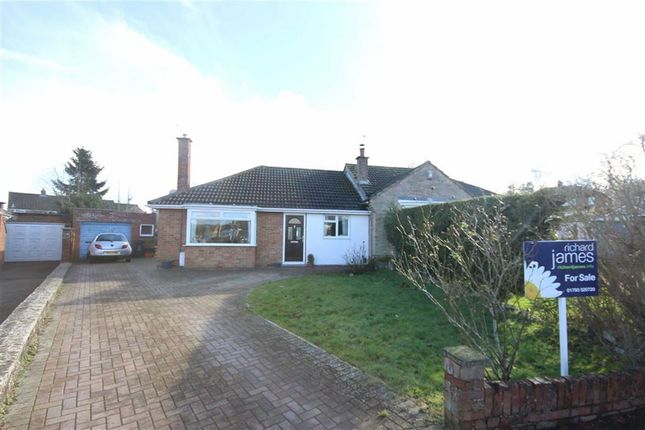 Thumbnail Semi-detached bungalow for sale in Arundel Close, Lawn, Swindon, Wiltshire