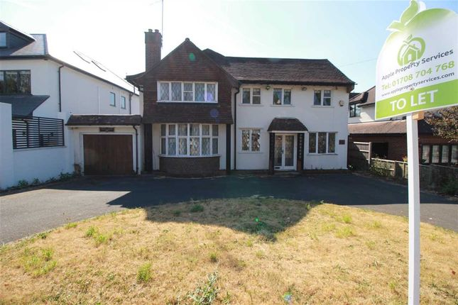 Thumbnail Detached house to rent in New Forest Lane, Chigwell