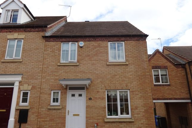 Thumbnail Town house to rent in Gleadless View, Sheffield