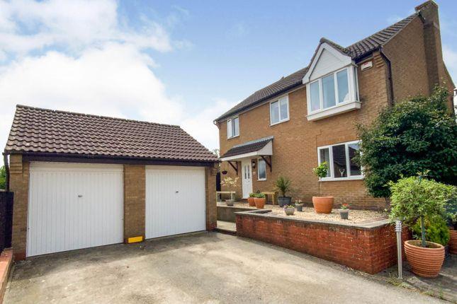 4 bed detached house for sale in Caudebec Close, Oakham LE15