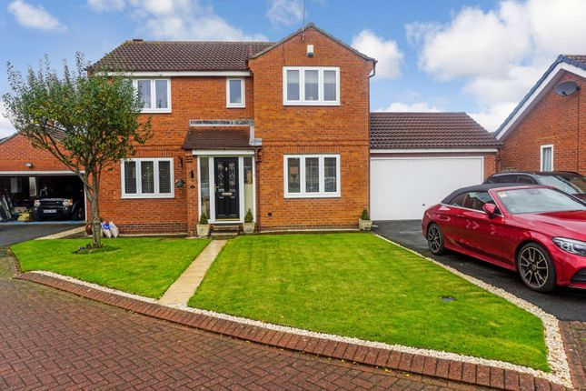 Thumbnail Detached house for sale in Cleadon Lea, Sunderland