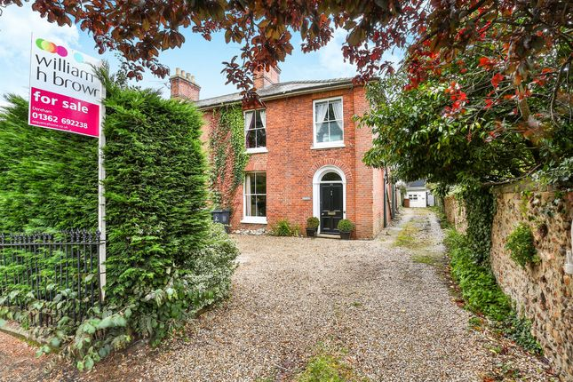 Thumbnail End terrace house for sale in Quebec Road, Dereham