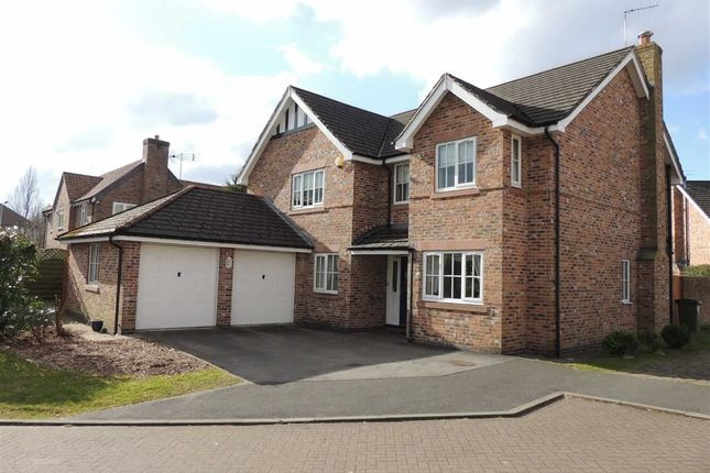 Thumbnail Detached house for sale in Hall Farm Close, Hazel Grove, Stockport