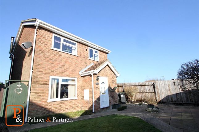Detached house for sale in Holst Mead, Stowmarket