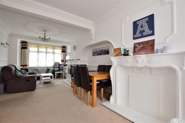 Thumbnail End terrace house for sale in Huxley Drive, Romford, Essex
