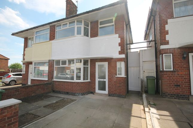 Thumbnail Semi-detached house for sale in Wilnicott Road, Braunstone, Leicester
