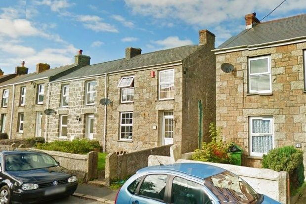 Thumbnail End terrace house to rent in Fore Street, Beacon, Camborne